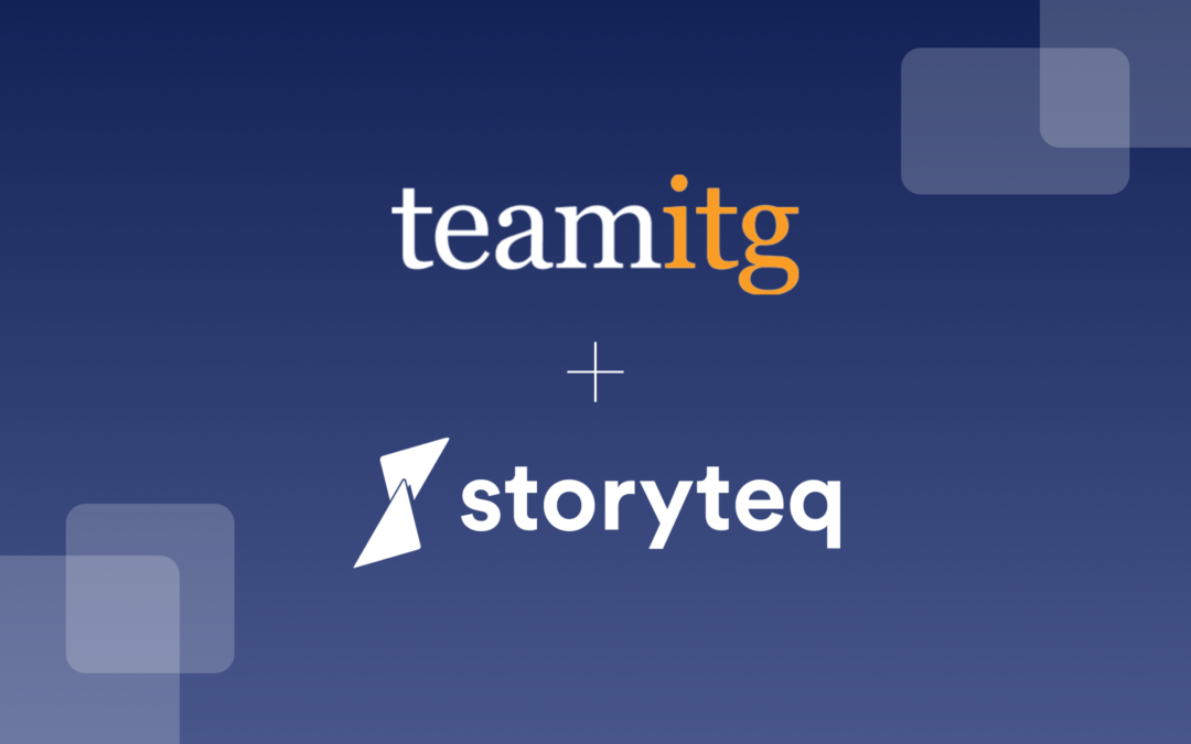 Storyteq partners up with Team ITG to unlock creative automation for global enterprises